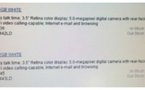 L'iPhone 4 blanc le 27 février aux US ?