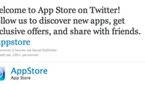 Le Twitter de l'App Store