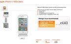 L'iPhone 4 blanc chez Orange France