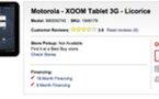 Motorola Xoom chez Best Buy le 24 février pour 800 $