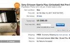 Sony Ericsson Xperia Play en vente ... sur eBay