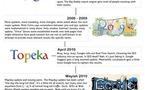 Google danse de 2002 à 2011 en 1 image