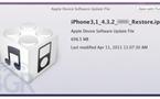 iOS 4.3.2 pour iPhone et iPad dans quelques jours