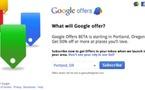 Google Offers - Le concurrent de Groupon débarque aux US