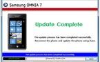 Le problème de mise à jour de l'Omnia 7 corrigé par Samsung