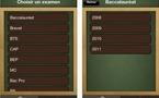Résultats Examens 2011 sur iPhone ( bac, bac pro, bep, cap, bts )