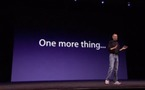 One More Thing - Du rap pour Apple