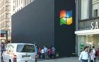 Un Apple Store aux couleurs de Windows