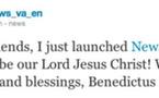 Le Pape découvre l'iPad
