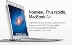 Les nouveaux Macbook Air sont là