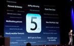 iOS 5 bêta 5 en vidéo