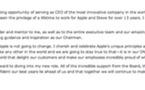 Apple ne changera pas - Tim Cook CEO d'Apple