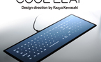 Cool Leaf Keyboard : Un clavier anti-saleté