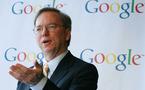 """E.Schmidt : """"Si vous ne voulez pas utiliser votre vrai nom, n'utilisez pas Google Plus"""""""