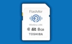 Toshiba lance la carte SD Wifi FlashAir