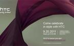 HTC va faire une annonce le 20 septembre