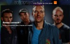 Coldplay en concert Live sur Dailymotion ce Lundi 31 Octobre