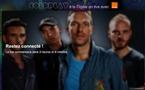Coldplay en concert Live sur Dailymotion ce Lundi 31 Octobre