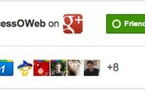 Badge Google+ pour Pages Google+