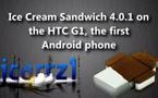 Android Ice Cream Sandwich sur un HTC G1, ça donne quoi ?