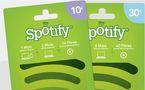 Spotify met en vente des cartes cadeaux