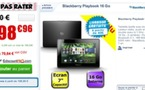 La Blackberry Playbook à 199 € chez CDiscount