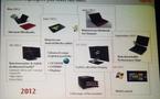 Fujitsu - Smartphones, tablettes et autres pour 2012 (roadmap)