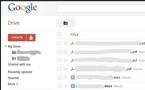 Google Drive - Pour la semaine prochaine... ou pas!