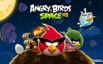 Angry Birds Space sur la Playbook de Blackberry
