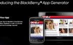 Blackberry App Generator - Une application en 10 mn par Mippin