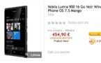 Bon plan - Le Nokia Lumia 900 à 454 €