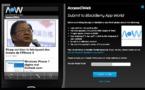 Blackberry App Generator - Créez votre application Blackberry