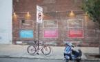 Street Art - La Microsoft Surface envahit NewYork