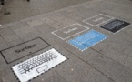 Microsoft fait la promotion de sa tablette Surface sur les trottoirs parisiens