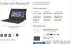 Les prix de la tablette Surface enfin dévoilés