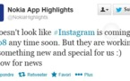 Instagram bientôt sur Windows Phone? ou plutôt sur... Lumia Phone?
