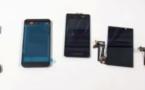 Le Blackberry Z10 en pièces détachées (vidéo)