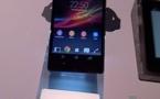 Sony Xperia Z - Première apparition au CES 2013