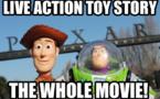Toy Story revient en mode Live Action - Film en intégralité