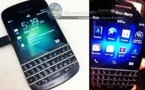 Blackberry Q10 - Deux nouvelles photos