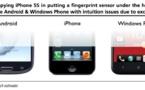 Un capteur d'empreinte digitale sur iPhone 6 ou iPhone 5S