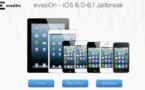 Jailbreak iOS 6 - Evasion 1.3 pour iOS 6.1.1