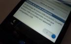 Activer le stockage de masse sur Blackberry 10