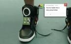 Google invente la chaussure qui parle