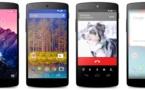 Nexus 5 par LG disponible sur le Google Play Store