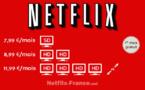Voici les futurs prix de Netflix en France